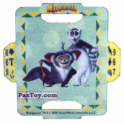 PaxToy 15 Maurice and King Julien A+