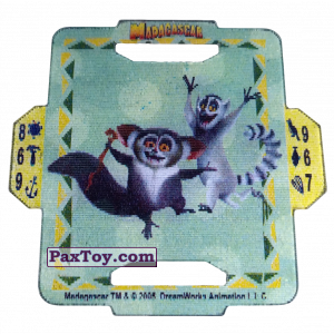 PaxToy 15 Maurice and King Julien B+
