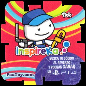 PaxToy.com - 15 Plumber из Cheetos: Inspireka - Busca tu codigo al reverso y podras ganar un PS4 (TAZOS / Q-Bitazos)