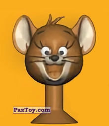 PaxToy.com - 16 Jerry smiles из Migros: Tom & Jerry and Looney Tunes Stikeez