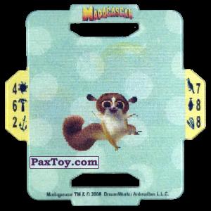PaxToy.com - 16 Mort из Cerezos: Madagascar (TAZOS / Q-Bitazos)