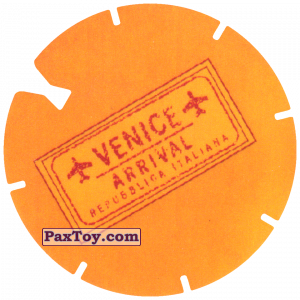PaxToy.com - 16 Yellow Tazo - Logo Venice из Cheetos: Spider-Man Lejos De Casa (CLASSIC TAZOS)