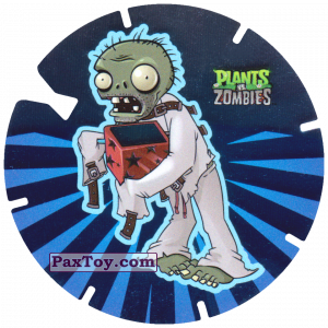 PaxToy.com - 17 Jack-in-the-Box Zombie из Gamesa: Plants Vs. Zombies TAZOS