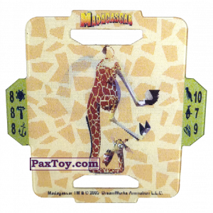 PaxToy.com - 17 Melman из Cerezos: Madagascar (TAZOS / Q-Bitazos)