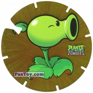 PaxToy.com - 18 Peashooter из Gamesa: Plants Vs. Zombies TAZOS