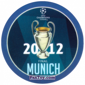 PaxToy.com - 20 2012 Munich из Sabritas: Football Champions League 2019
