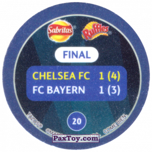 PaxToy.com - 20 2012 Munich (Сторна-back) из Sabritas: Football Champions League 2019