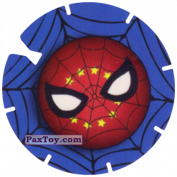 PaxToy 20 SPIDER MAN LOGO FACE