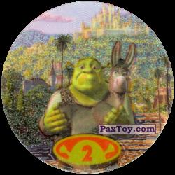 PaxToy 20 Tazos 2 Shrek & Donkey