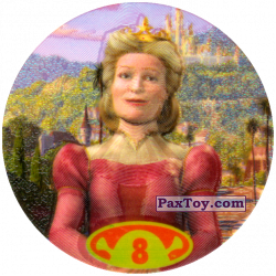 PaxToy 20 Tazos 8 Queen Lillian
