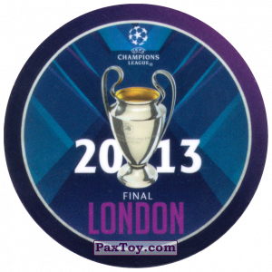 PaxToy.com - 21 2013 London из Sabritas: Football Champions League 2019