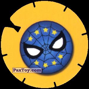 PaxToy.com - 21 SPIDER-MAN LOGO BLUE из Cheetos: Spider-Man Lejos De Casa (CLASSIC TAZOS)
