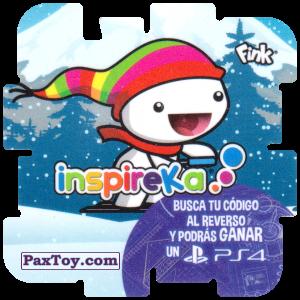 PaxToy.com - 21 Skier из Cheetos: Inspireka - Busca tu codigo al reverso y podras ganar un PS4 (TAZOS / Q-Bitazos)