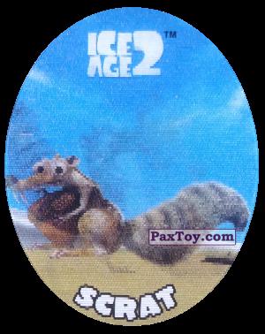 PaxToy.com - 21 Scrat (Голографическая) из Cheetos: Ice Age 2