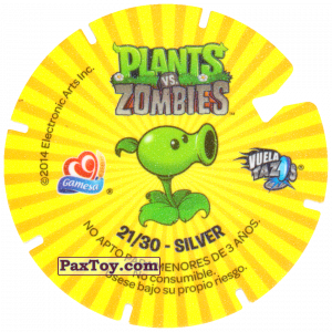 PaxToy.com - 21 Hospital For Wall-nut (Сторна-back) из Gamesa: Plants Vs. Zombies TAZOS