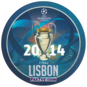 PaxToy.com - 22 2014 Lisbon из Sabritas: Football Champions League 2019