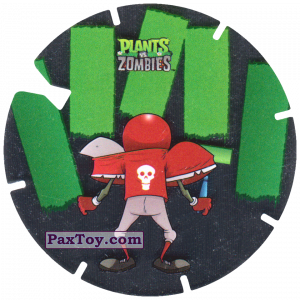 PaxToy.com - 22 Football Zombie из Gamesa: Plants Vs. Zombies TAZOS