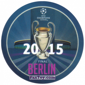 PaxToy.com - 23 2015 Berlin из Sabritas: Football Champions League 2019