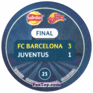 PaxToy.com - 23 2015 Berlin (Сторна-back) из Sabritas: Football Champions League 2019