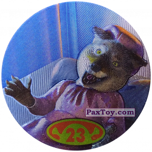 PaxToy.com  Фишка / POG / CAP / Tazo 23 Wolf из Cheetos: Shrek 2 (50 штук)