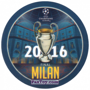 PaxToy.com - 24 2016 Milan из Sabritas: Football Champions League 2019