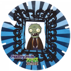 PaxToy.com - 24 Picture of a zombie из Gamesa: Plants Vs. Zombies TAZOS