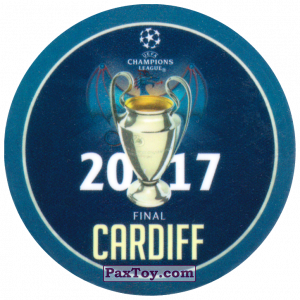 PaxToy.com - 25 2017 Cardiff из Sabritas: Football Champions League 2019