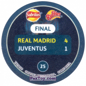 PaxToy.com - 25 2017 Cardiff (Сторна-back) из Sabritas: Football Champions League 2019