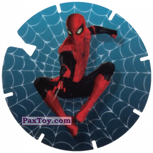 PaxToy.com  Фишка / POG / CAP / Tazo 25 Web shot (MEGA TAZO) из Doritos: Spider-Man Lejos De Casa (MEGA TAZOS)