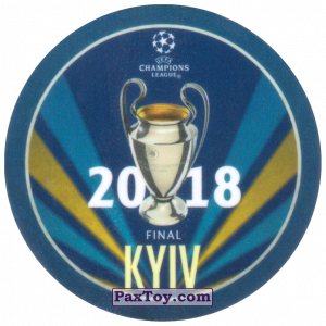 PaxToy.com - 26 2018 Kyiv из Sabritas: Football Champions League 2019