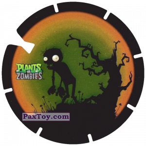 PaxToy.com - 26 Dark Zombie из Gamesa: Plants Vs. Zombies TAZOS