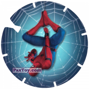 PaxToy.com - 26 Spider-Man is coming down the web (MEGA TAZO) из Doritos: Spider-Man Lejos De Casa (MEGA TAZOS)