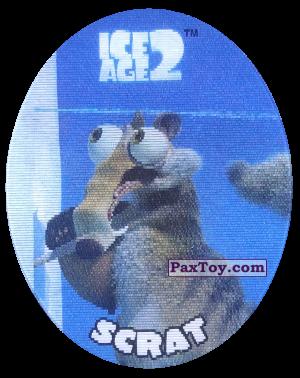PaxToy.com - 26 Scrat (Голографическая) из Cheetos: Ice Age 2
