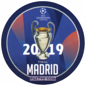 PaxToy.com - 27 2019 Madrid из Sabritas: Football Champions League 2019