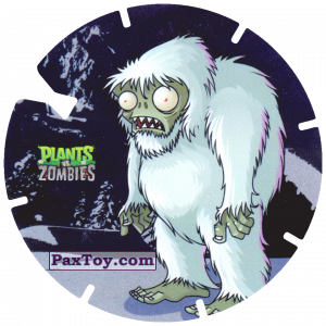 PaxToy.com - 27 Zombie Yeti из Gamesa: Plants Vs. Zombies TAZOS