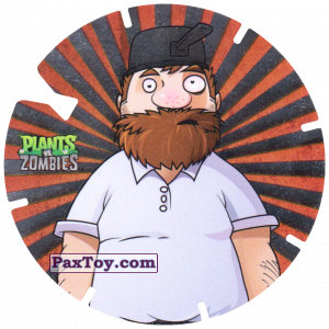 PaxToy.com - 29 Crazy Dave из Gamesa: Plants Vs. Zombies TAZOS
