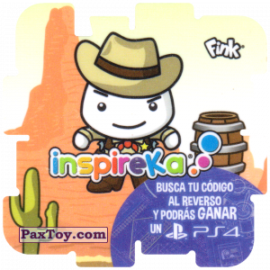 PaxToy.com - 29 Sheriff из Cheetos: Inspireka - Busca tu codigo al reverso y podras ganar un PS4 (TAZOS / Q-Bitazos)