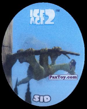 PaxToy.com - 29 Sid (Голографическая) из Cheetos: Ice Age 2