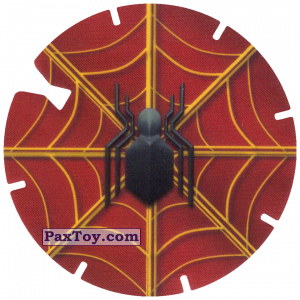 PaxToy.com - 30 Logo Spider-Man on Red (MEGA TAZO) из Doritos: Spider-Man Lejos De Casa (MEGA TAZOS)