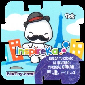 PaxToy.com - 30 Parisian из Cheetos: Inspireka - Busca tu codigo al reverso y podras ganar un PS4 (TAZOS / Q-Bitazos)