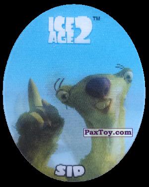 PaxToy.com - 30 Sid (Голографическая) из Cheetos: Ice Age 2