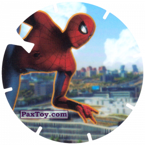 PaxToy.com - 31 Jump over the city (MEGA TAZO) из Doritos: Spider-Man Lejos De Casa (MEGA TAZOS)