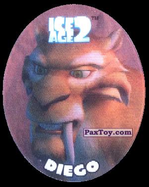 PaxToy.com - 31 Diego (Голографическая) из Cheetos: Ice Age 2