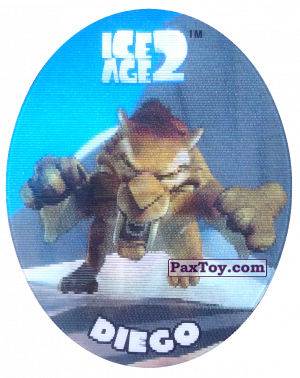 PaxToy.com - 32 Diego (Голографическая) из Cheetos: Ice Age 2