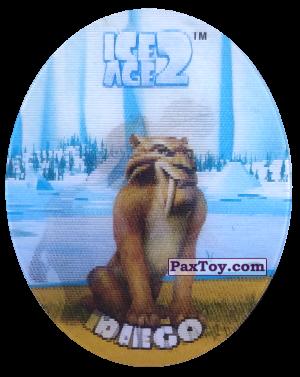 PaxToy.com - 33 Diego (Голографическая) из Cheetos: Ice Age 2
