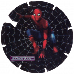 PaxToy.com - 35 Landing Spider-Man (MEGA TAZO) из Doritos: Spider-Man Lejos De Casa (MEGA TAZOS)