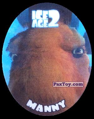 PaxToy.com - 35 Manny (Голографическая) из Cheetos: Ice Age 2