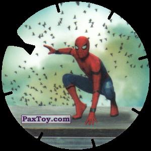 PaxToy.com - 36 Landing Spider-Man (MEGA TAZO) из Doritos: Spider-Man Lejos De Casa (MEGA TAZOS)