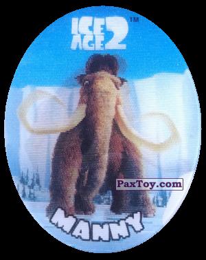 PaxToy.com - 37 Manny (Голографическая) из Cheetos: Ice Age 2