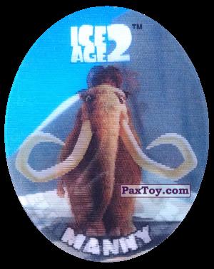 PaxToy.com - 38 Manny (Голографическая) из Cheetos: Ice Age 2